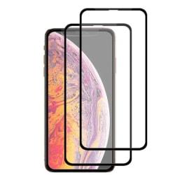 2-pack Skärmskydd i härdat glas - iPhone X/XS/11