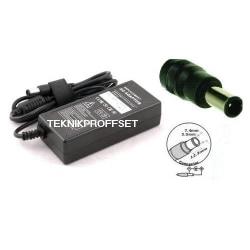 AC Adapter till HP, 18.5V 4.9A 90W  (7.4x5.0mm)