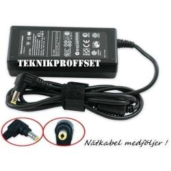 AC Adapter till Toshiba 19V 3.42A 65W (5.5x2.5mm)