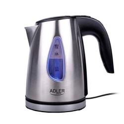 Adler AD1203 Vattenkokare i metall, 1 L