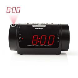 Alarm Klockradio LED Svart