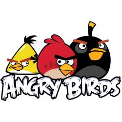 Angry Birds, Håraccessoarer, 6-Pack Hårnålar, Silver