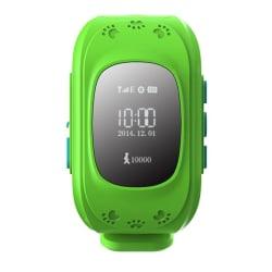 Barnklocka med GPS - Herzberg HG-5050, Grön