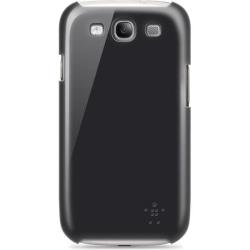 Belkin Snap Shield, plastskal för Samsung Galaxy S III, svart