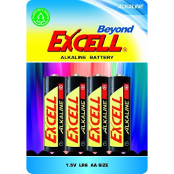 Beyond Excell AA (LR6), batteri, alkaline, 4-pack