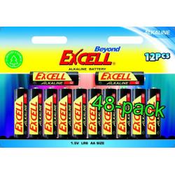 Beyond Excell AA (LR6), batteri, alkaline, 48-pack