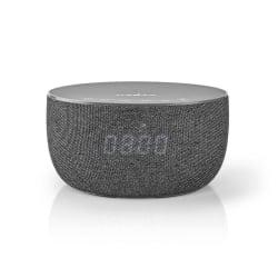 Bluetooth-Högtalare med trådlös laddning och klocka | 30 W | Grå