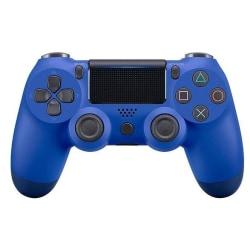 Bluetooth trådlös handkontroll till PS4, Blå