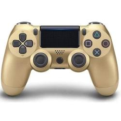 Bluetooth trådlös handkontroll till PS4, Guld