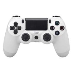 Bluetooth trådlös handkontroll till PS4, Vit