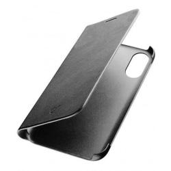 Cellularline Bookcase till iPhone X/XS, Svart