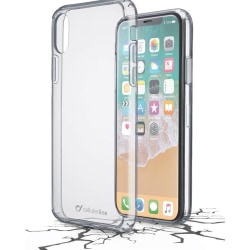Cellularline Clear Duo till iPhone X/XS, Transparant