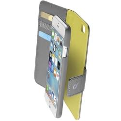 Cellularline Combo väska iPhone 6/6S, Grå/Gul