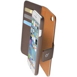Cellularline Combo väska iPhone 6/6S, Mörkbrun/Orange