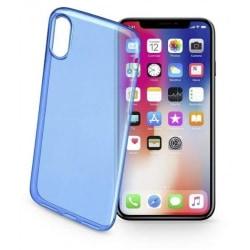 Cellularline Mobilskal i TPU-plast till iPhone X/XS, Mörkblå