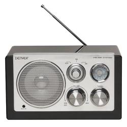Denver Radio Svart pianolack (TR-61)