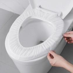 Engångsskydd för toalettsits, 50-pack