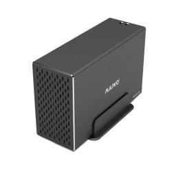 """Externt hårddiskkabinett, USB 3.1 Gen2, 3,5"""" HDD, USB-A, svart"""