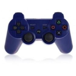 Trådlös handkontroll till PS3 med Bluetooth & DoubleShock 3, Blå