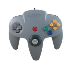 Handkontroll till Nintendo 64 (Grå)