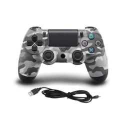 Handkontroll till Playstation 4, Grå, Kamouflage