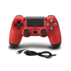 Handkontroll till Playstation 4, Röd