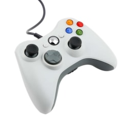 Handkontroll till Xbox 360 (Vit)