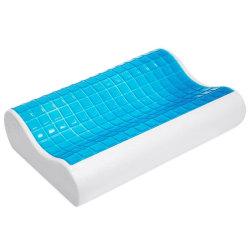 Herzberg Huvudkudde med Memory-foam och kylande gel (HG-5030GL)