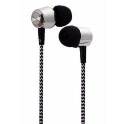 Hörlurar In-Ear med tygkabel, Svart