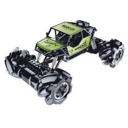 JJRC 2.4G 1:18 Alloy RC Drift bil, Grön