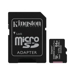 Kingston Canvas Select Plus - microSDXC 64GB, class 10, UHS-I, 1