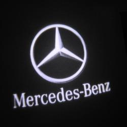 LED Dörrbelysning, Mercedes-Benz logga