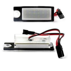 LED-skyltbelysning till Volvo V70N/S60/S80/XC90