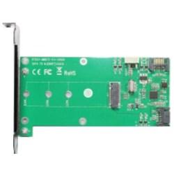 M.2 och SATA till SATA Expansionskort, NGFF SSD, grön