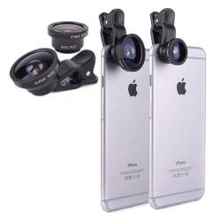 Makrolins för Smartphones