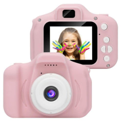 Mini HD Digitalkamera för barn, Rosa