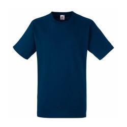Mörkblå T-shirt, Small Fruit of the Loom, Small