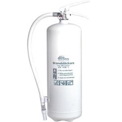 Nexa brandsläckare, 6 Kg ABC-pulver med väggfäste (Vit)