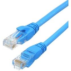 NORDIQZENZ Nätverkskabel UTP RJ45 Cat6 10m, Blå