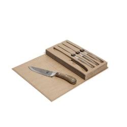 Orrefors Hunting köttknivar i fin förpackning, 4-Pack