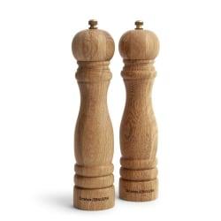 Orrefors Jernverk - Saltkvarn och pepparkvarn i trä