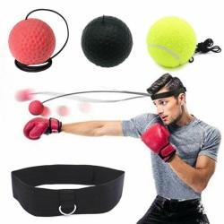Pannbandsboxning Reflexboll - Träna dina reflexer, 3 bollar