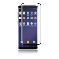 Panzer Samsung S9+, Curved Glass, 9H, svart