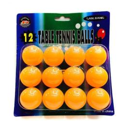 Pingisbollar, 12-pack