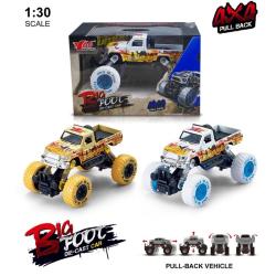 Pull-back Monstertruck 1:30 4x4