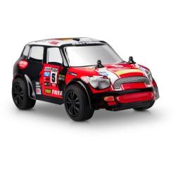 Radiostyrd rallybil i skala 1/28 - Mini Cooper