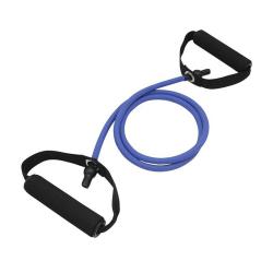 Resistance band/Gummiband med handtag, Blå