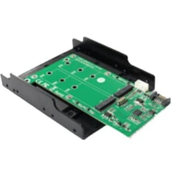 SATA TO 2xM.2 SATA SSD Convertor with tray design SupportM.2(NGF