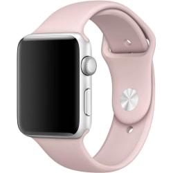 Silikon Klockarmband Apple Watch, 38/40mm, Rosa