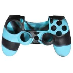 Silikongrepp för handkontroll, Playstation 4, Kamoflage Turkos
